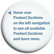 product sections