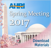 AHRI 2017 Annual Meeting